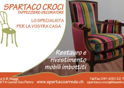 Spartaco Croci – Tappezziere- Decoratore