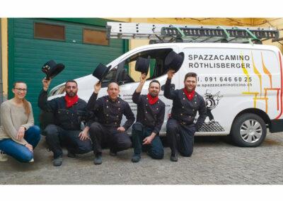 Spazzacamino Röthlisberger Termoimpianti Sagl